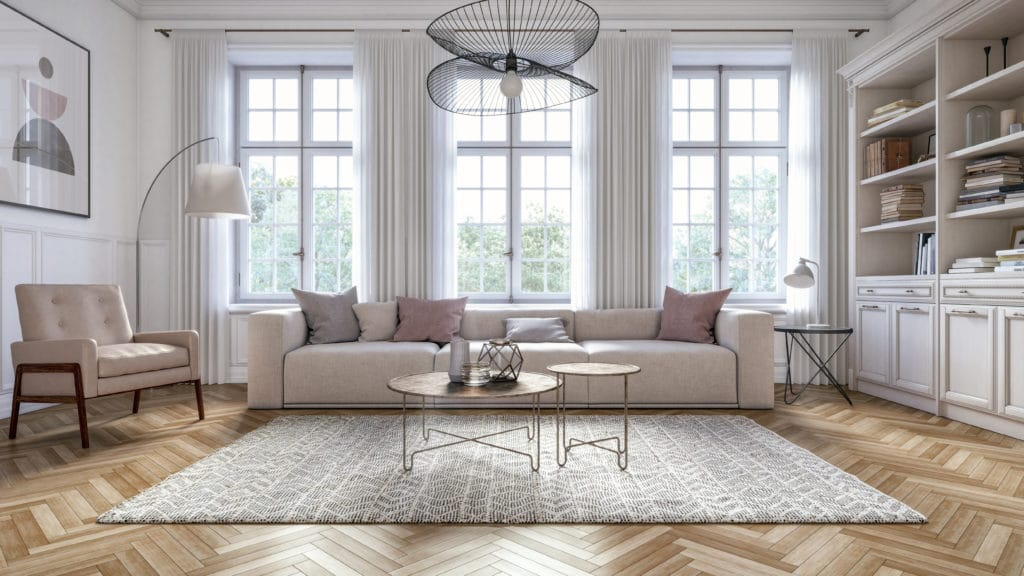 Image of: How To Use Rugs When Staging A Home Virtually Staging Properties