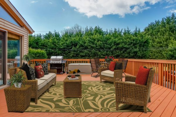 virtual staged outdoor space 2