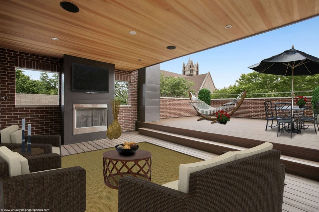 virtual staged outdoor space 4
