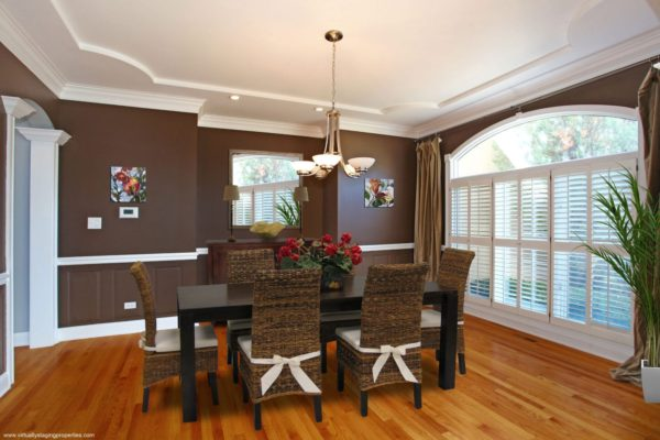 virtual staged dining room 4