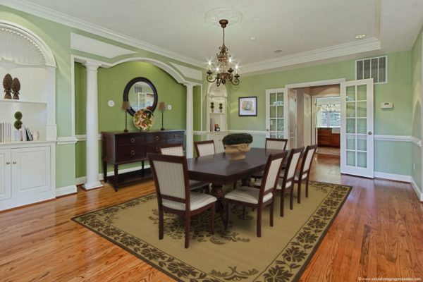 virtual staging dining room 8