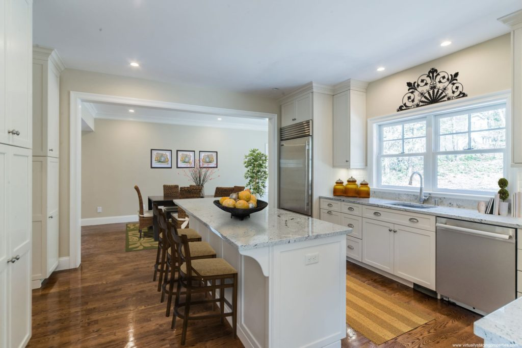 virtual staging kitchen 1