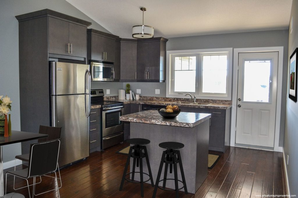 virtual staging kitchen 2