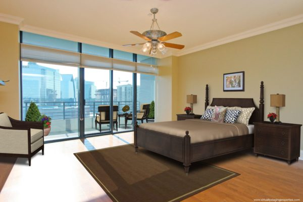 virtual staging bedroom 2