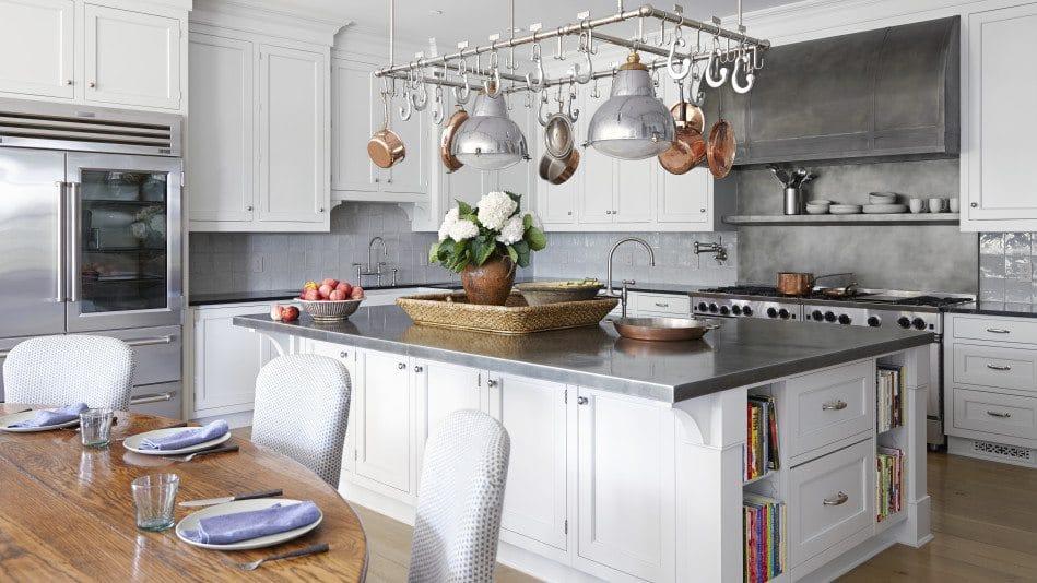 Professionally staged kitchen
